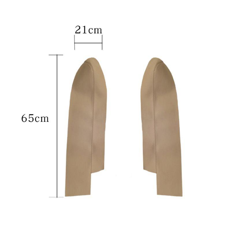 1 對用於 Crv 2007-2012 的汽車皮革前門面板扶手套