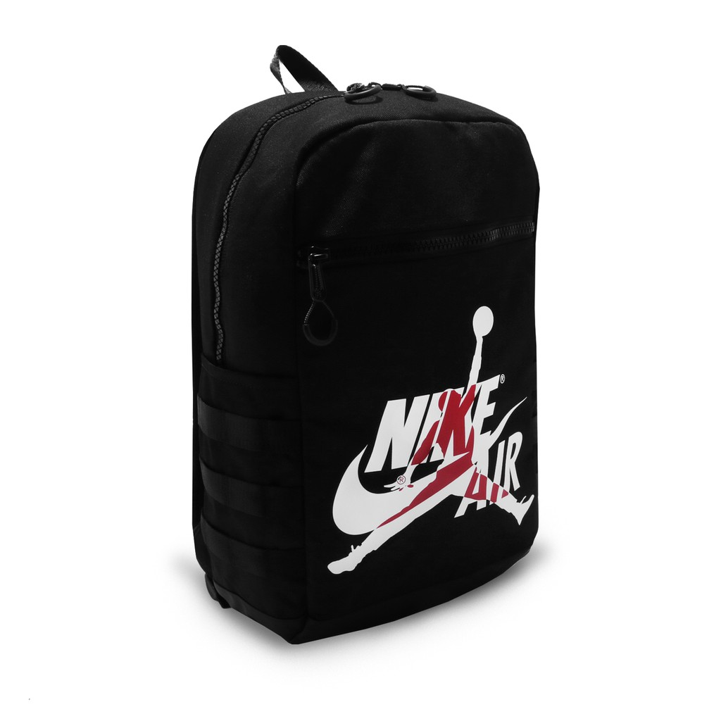 Nike 後背包 Jordan Jumpman Nike Air 黑 飛人 背包 籃球 9A0257-023 【ACS】