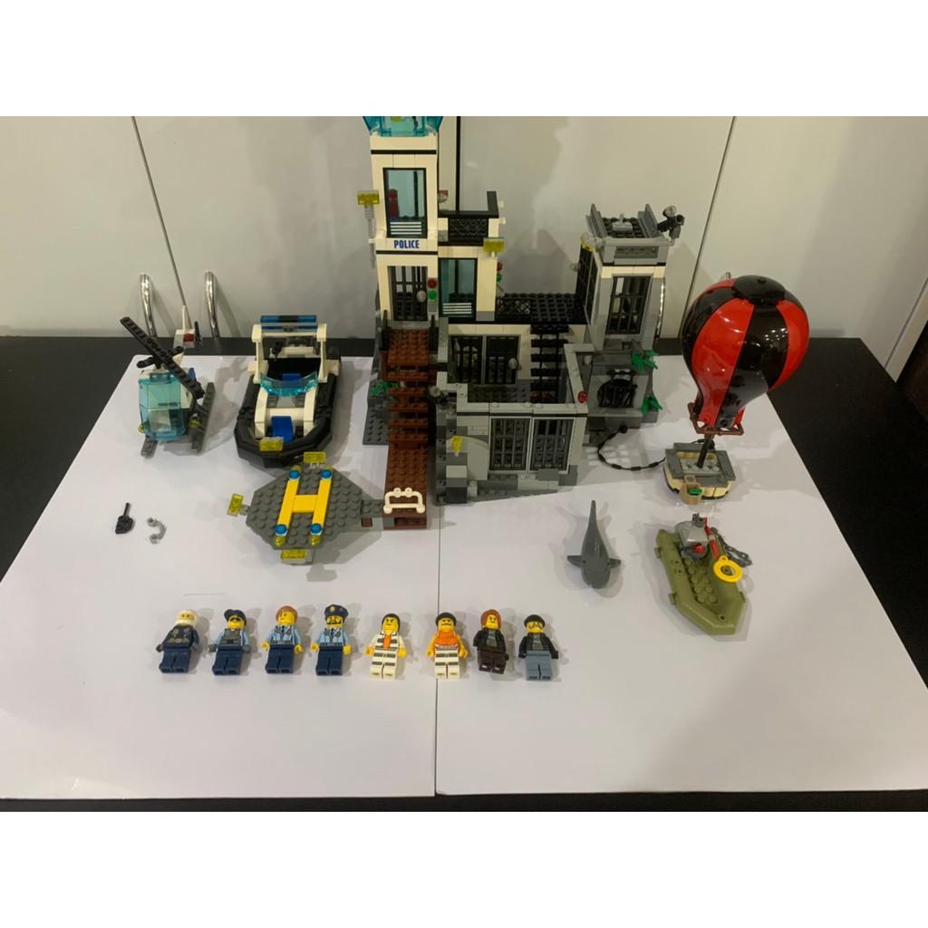 LEGO 樂高積木 城市系列 60130 監獄島