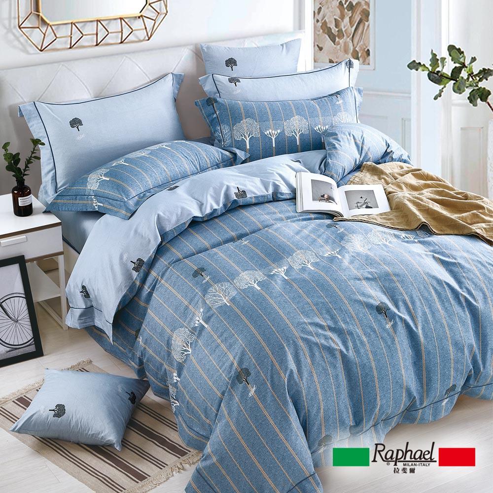 Raphael拉斐爾 非凡 純棉四件式床包兩用被套組