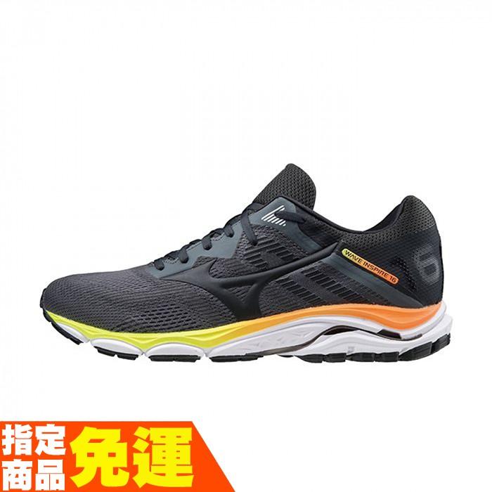 MIZUNO WAVE INSPIRE 16系列 支撐型男款慢跑鞋 黑 J1GC204416 贈1襪 20FW【樂買網】