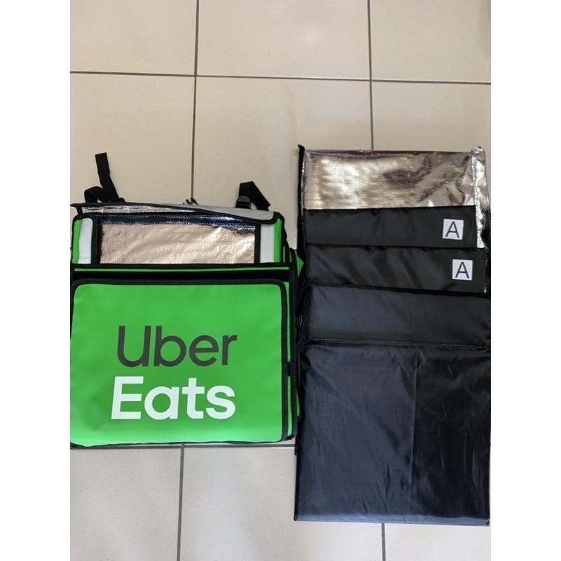 便宜最後一組9成新下殺830元/組UberEats 保溫袋 四代大包 上掀式 官方保溫袋 原廠保溫袋保溫包