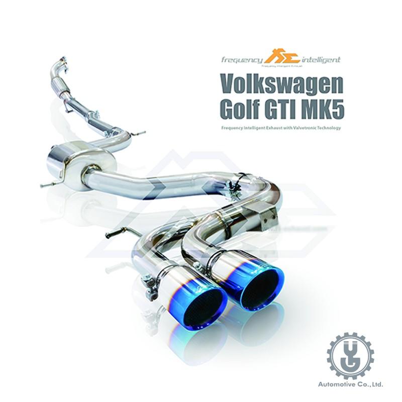 FI 高流量帶三元催化頭段 當派 排氣管 Volkswagen Golf GTi MK5 底盤【YGAUTO】