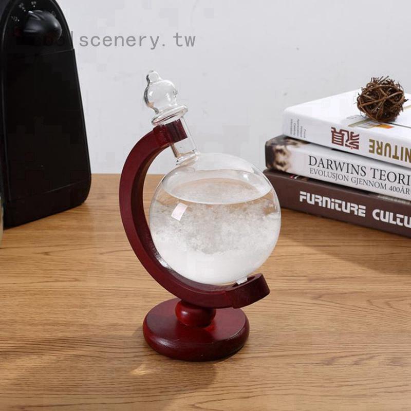 天氣預報瓶新款七彩發光風暴瓶 生日禮物玻璃工藝禮品