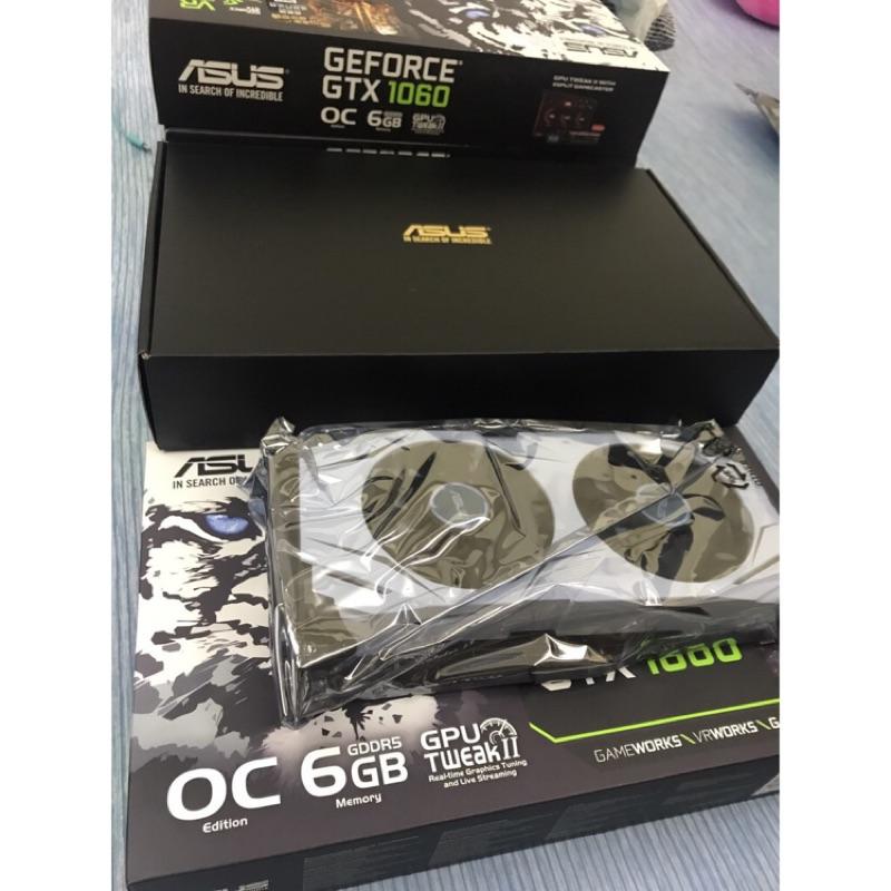 DUAL-GTX1060-O6G -顯示卡-ASUS(可小刀)