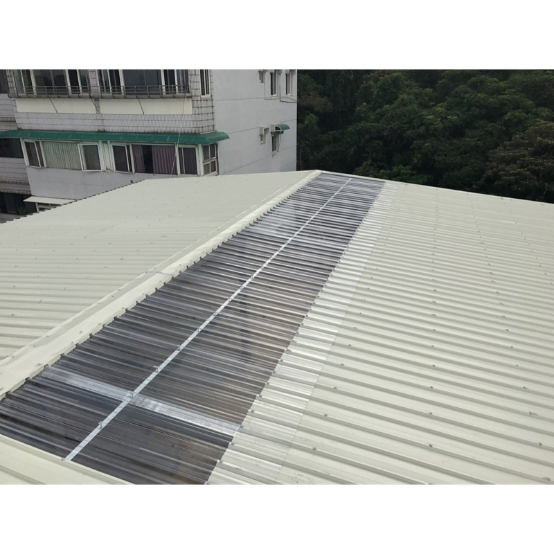 宏立.鐵皮屋.防水隔熱屋頂.石棉瓦拆換一坪2100