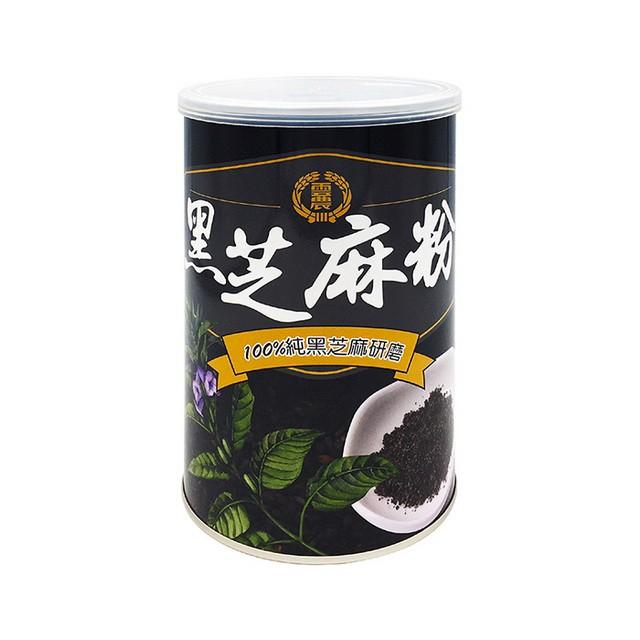 【雲林縣農會】黑芝麻粉 400公克/罐-台灣農漁會精選