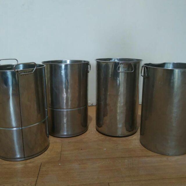 二手 不鏽鋼保冰桶  (1個150元,沒蓋子)