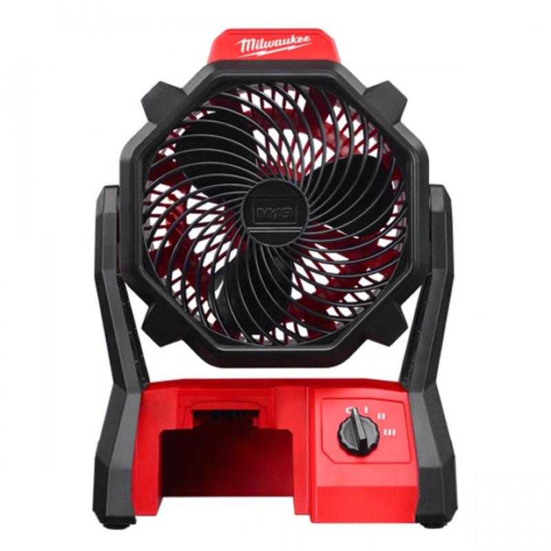 電風扇|米沃奇Milwaukee 18V 鋰電池三速風扇