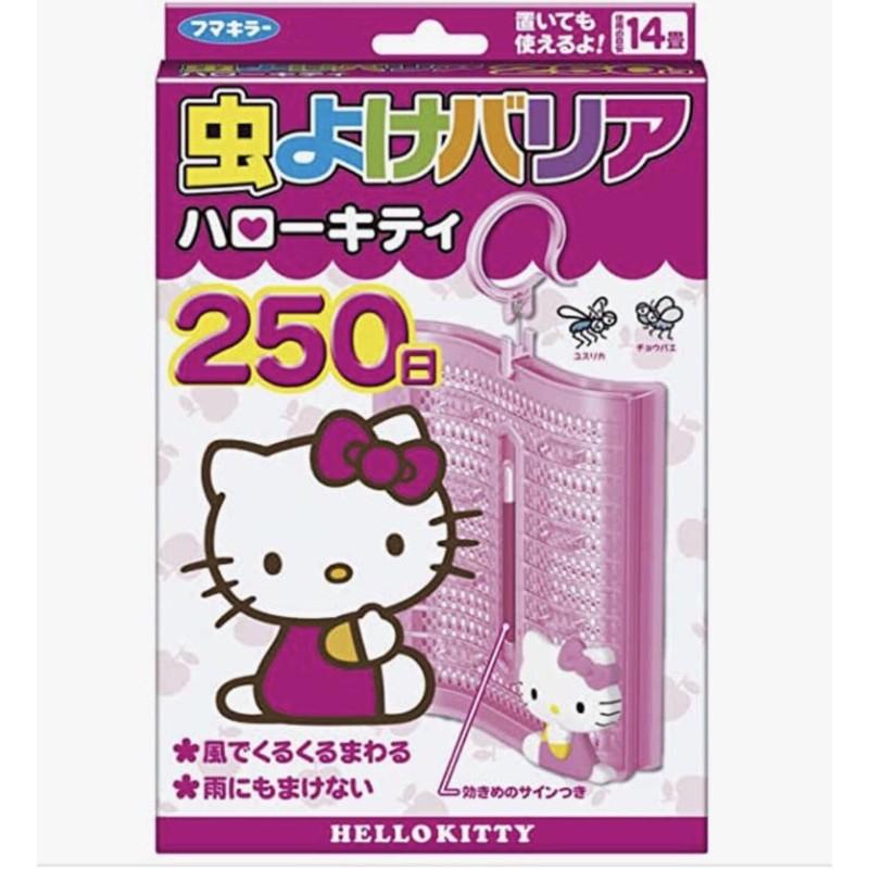 :日本代購:Hello Kitty/驅蚊/防蚊掛片/250日/(限定品)(預購)