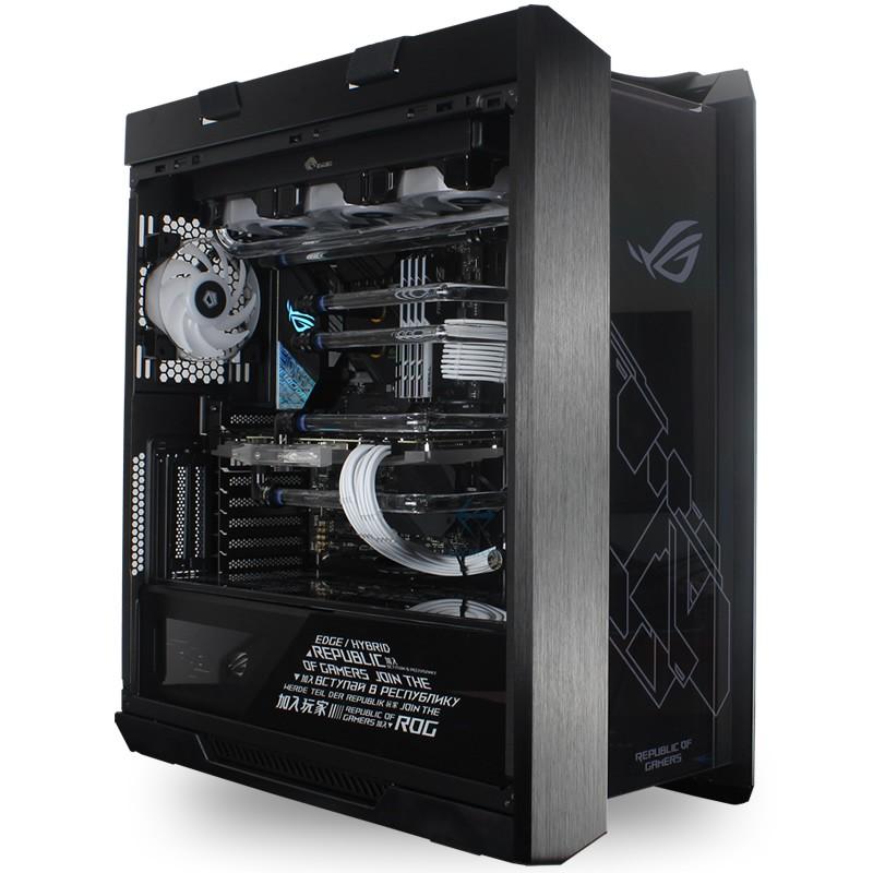 ROG全家桶 i9 10900K RTX3080 3090 高端主機游戲分體水冷電腦#東金靚淘運動