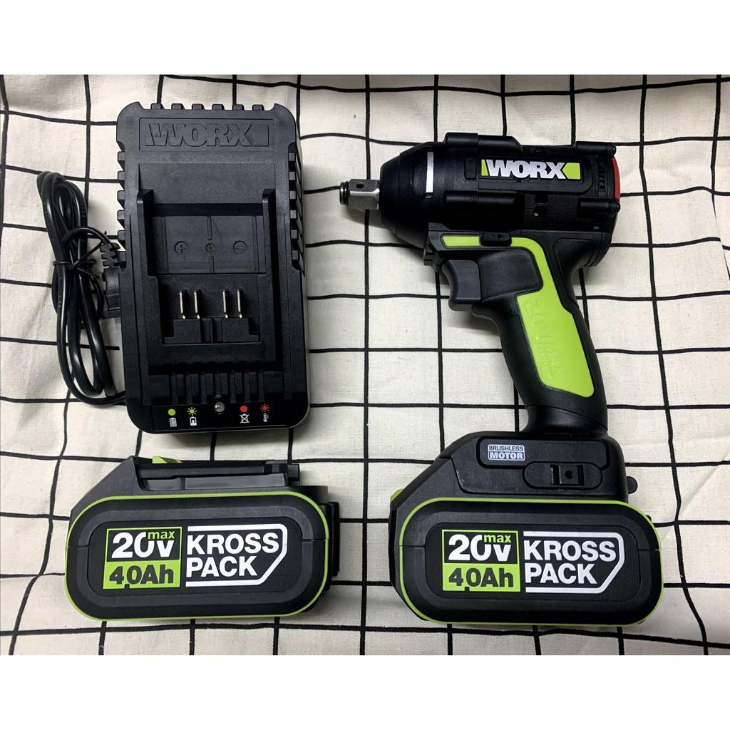 免運台灣現貨 WORX 威克士 WU279 20v 無刷 四分頭 電動板手 衝擊扳手 可通用294電動起子機 電池