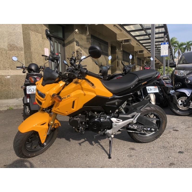 msx sf 125 abs 二手 街車重機 高雄 125cc 白牌 超新 檔車 便宜