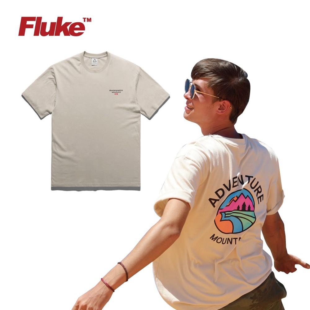[Fluke] 20S/S OVERSIZED CIRCLE MOUNTAIN短袖t恤 FST142 BG