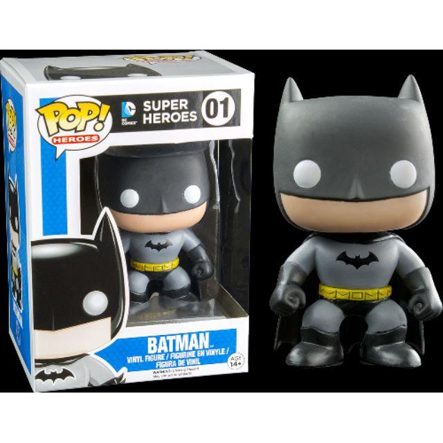 柴寶趣 現貨 FUNKO POP 01 蝙蝠俠 初版造型 再版 BATMAN DC SUPER HERO 澳洲空運 正版