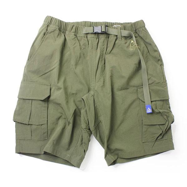 GERRY OUTDOORS 76840-41 Climbing Cargo Shorts 機能口袋 短褲 (墨綠)