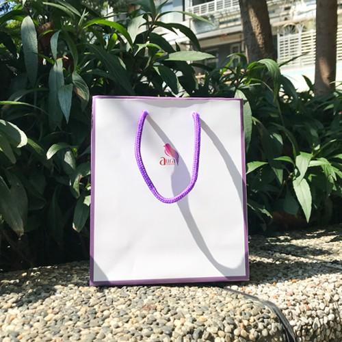 品牌質感厚磅禮袋【雅鄔樂AURA】手提袋 紙袋 包裝袋 購物袋 文具袋 禮物袋
