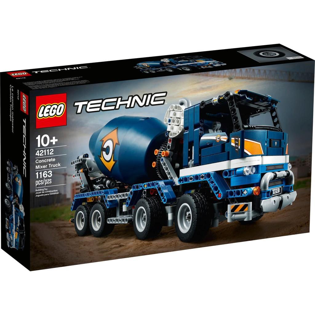 樂高積木 LEGO 42112 Concrete Mixer Truck 水泥攪拌車