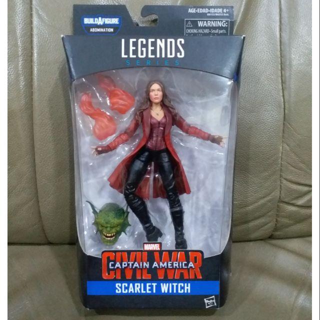 美版 漫威 Marvel legends 復仇者聯盟 6吋 緋紅女巫 含 殘魔 baf