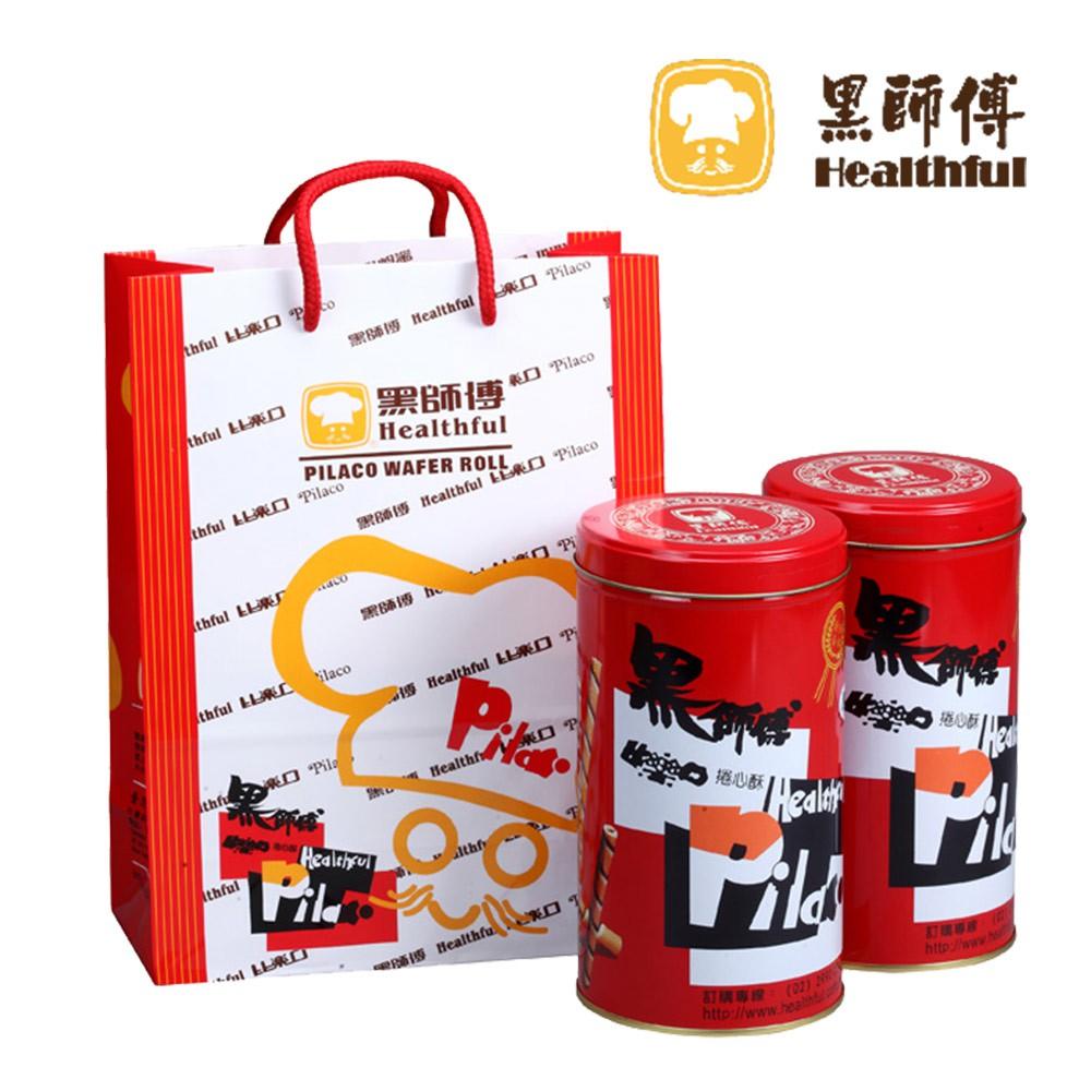 【黑師傅】人氣捲心酥(400g/罐)(牛奶/巧克力/草莓/花生/黑糖/咖啡)