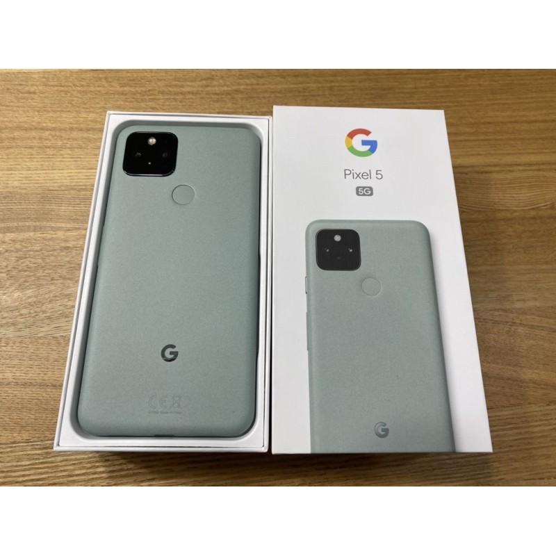 Google Pixel 5 灰綠