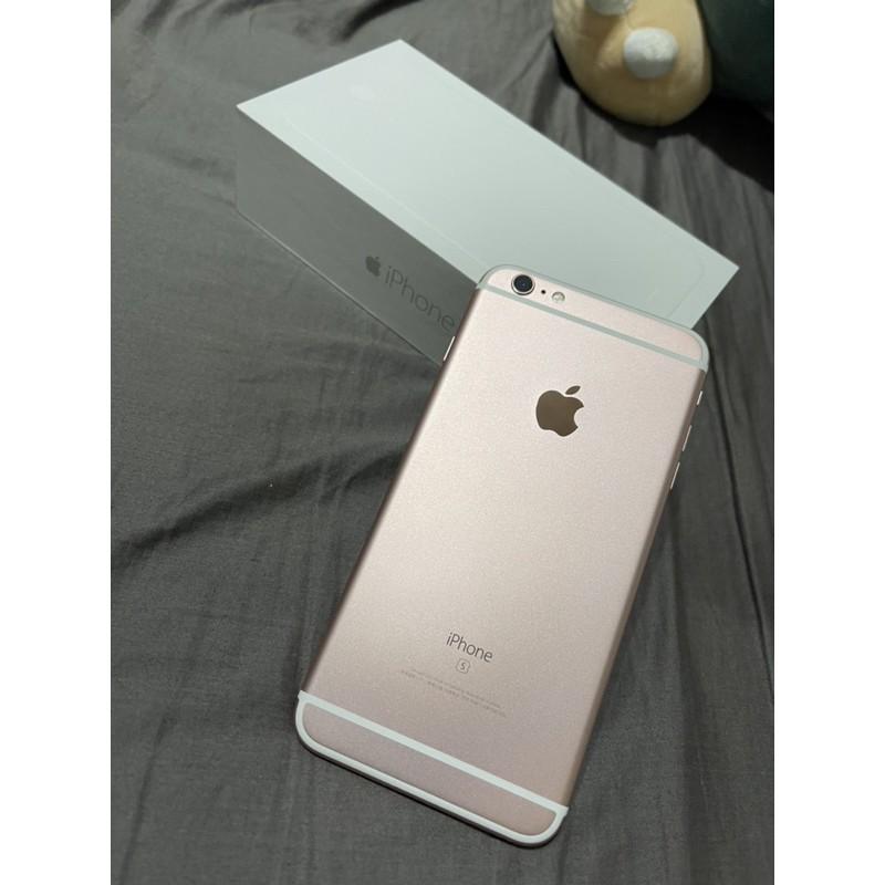 iphone 6s plus 64G 玫瑰金 二手