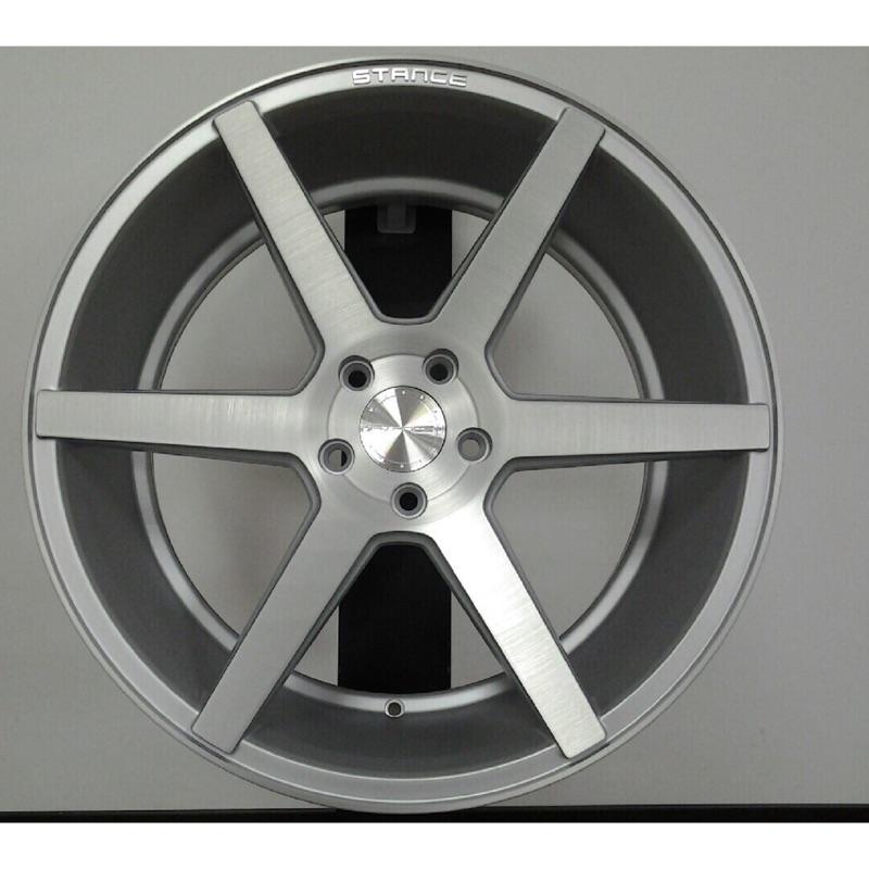 STANCE SC-6 19吋5/114.3銀車面前後配鋁圈 其他尺寸歡迎洽詢 價格標示88非實際售價 洽詢優惠中