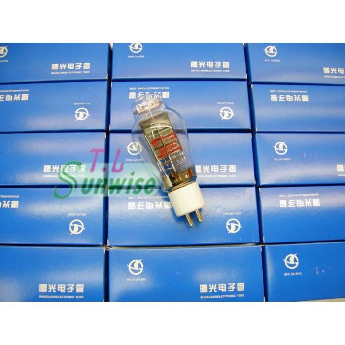 大量現貨 2A3 ︽NO:2303 中國 曙光 GOLD 2A3C NIB 彈簧燈絲型 鍍金腳 白色瓷座 葫蘆形 真空管