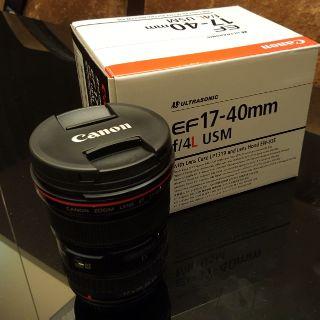 Canon EF 17-40mm f/ 4L USM 彩虹公司貨超廣角變焦L鏡頭