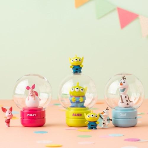 JUICY/ 韓國代購 迪士尼 公仔香氛小夜燈 10X10 雪寶 維尼 三眼怪 小豬 DISNEY 史努比 塔克