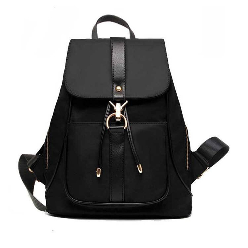 【現貨+預購】雙肩包女包包氣質百搭牛津布帆布大容量背包學生包包/