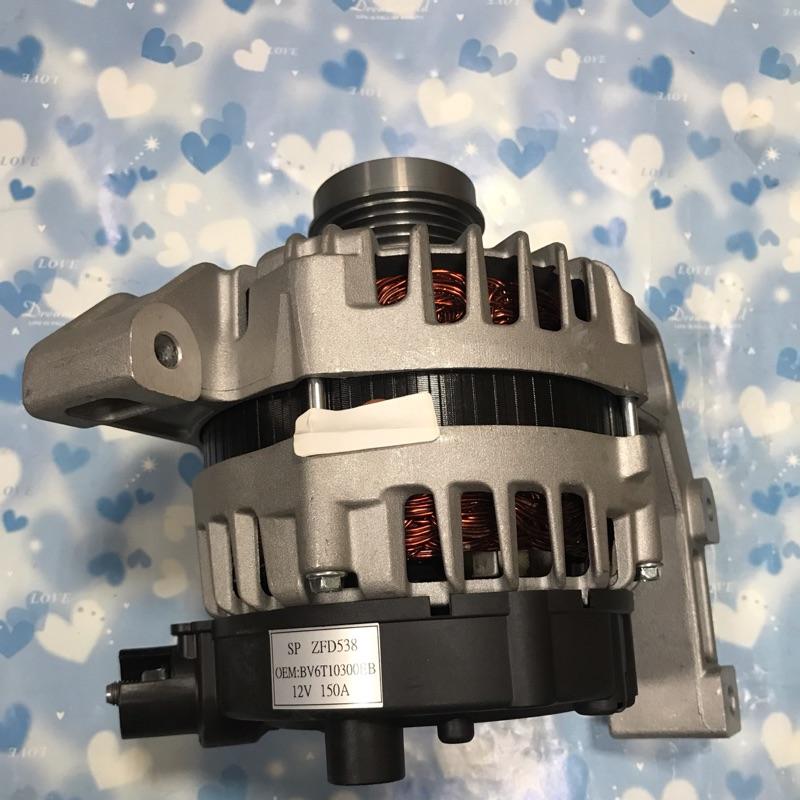 熊寶寶汽材福特FOCUS2.0/2012年後汽油車發電機全新品有單向軸承150安培的4PK特價12888元