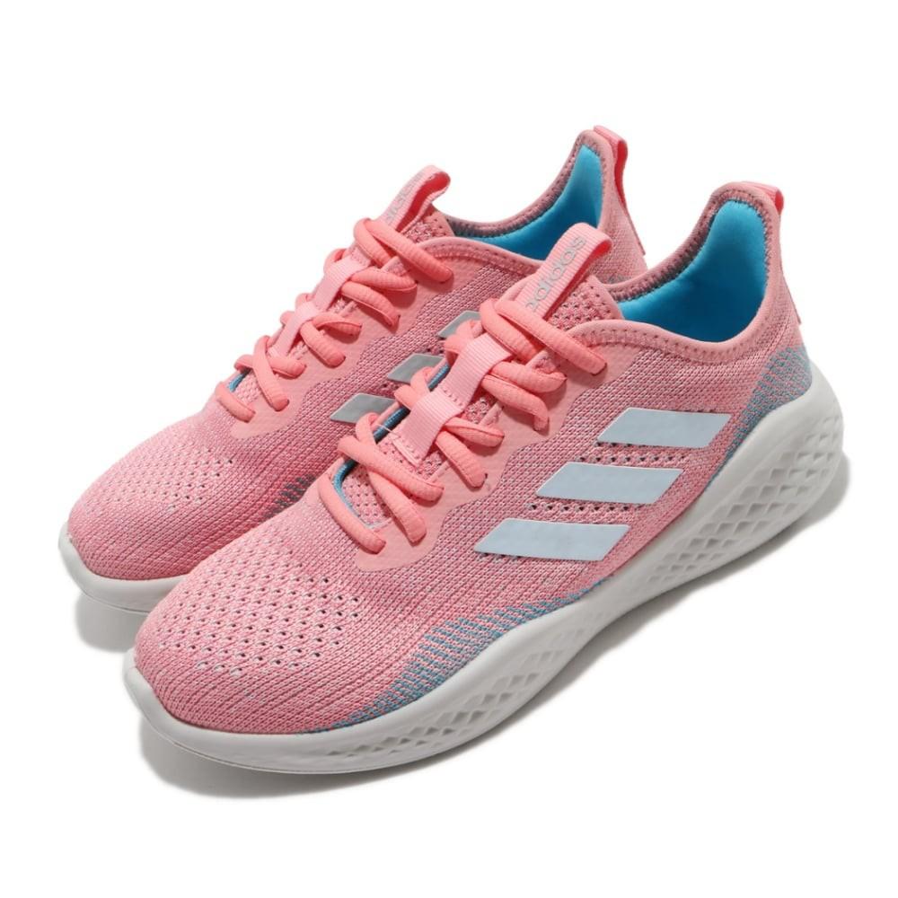 adidas FLUIDFLOW 女生 粉紅色 舒適 透氣 緩震 運動 EG3670 慢跑鞋 0315