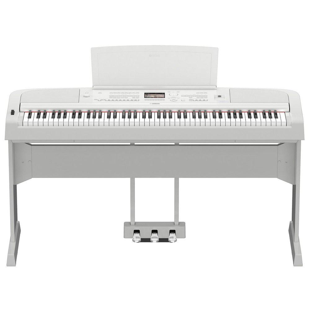 亞洲樂器 YAMAHA DGX-670 數位鋼琴 電鋼琴、(含三支踏板)、白色