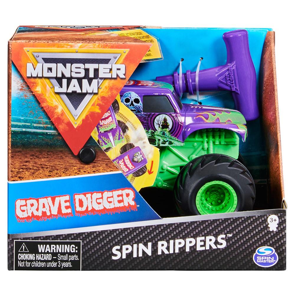 MONSTER JAM怪獸卡車-1:43造型卡車-Grave Digger 拉條款