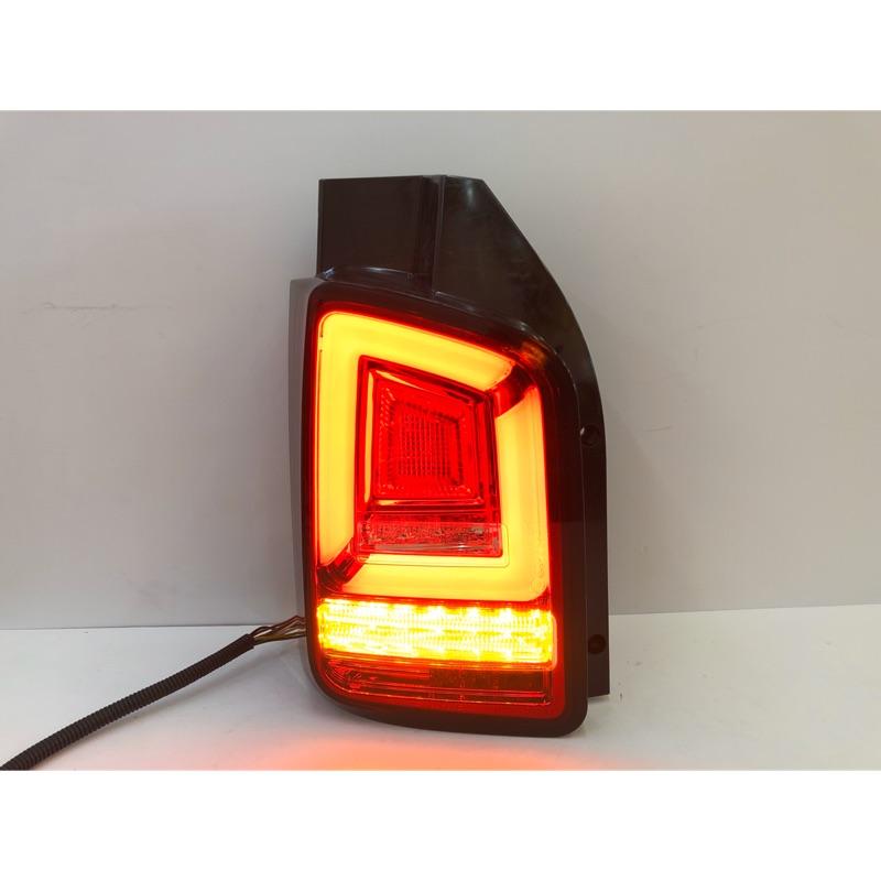 福斯 T5 尾燈 03-09年 LED 跑馬 方向燈  副廠