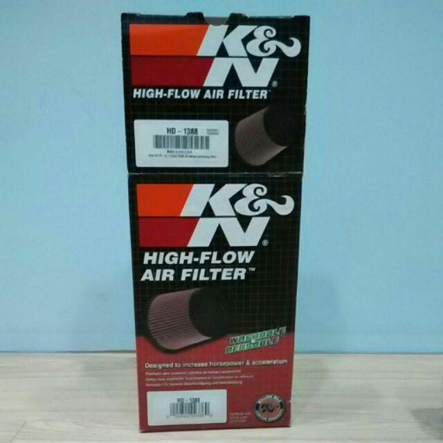 哈雷 化油器 k&n HD-1388重複式空濾 全新