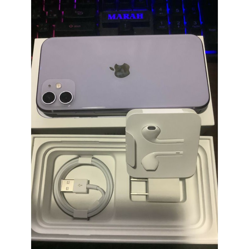 Apple iPhone 11(256G)紫色
