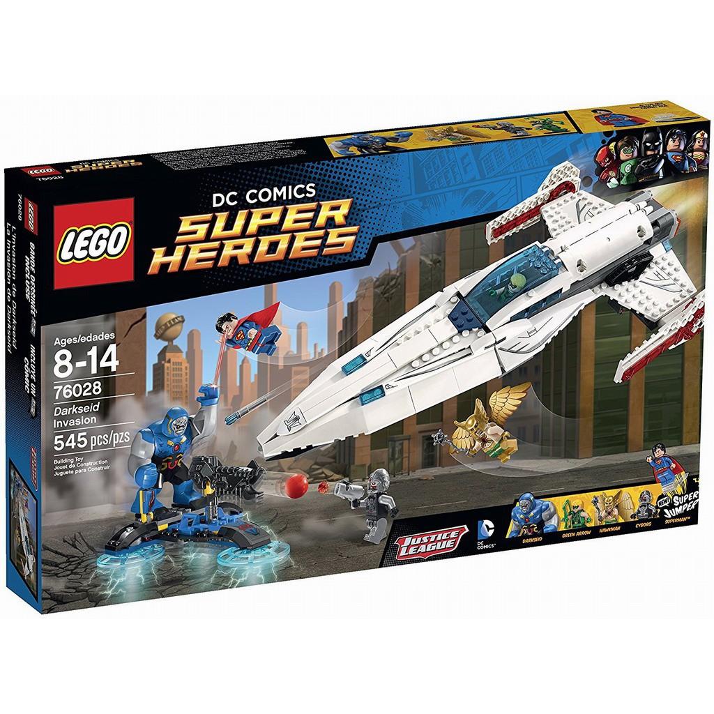 [全新] Lego 76028 樂高 Super Heros 超級英雄 超人 Darkseid入侵