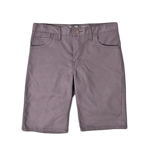 【DICKIES】WR805 膝上合身窄版 工作短褲 (灰色VG) 化學原宿