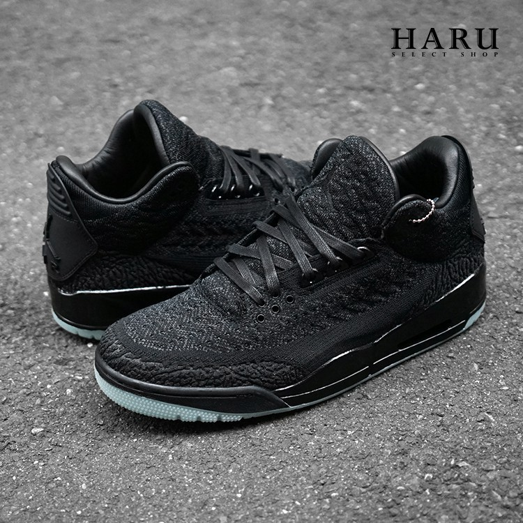 new styles 8cdbc c86c1 (寥寥)NIKE AIR JORDAN 3 RETRO FLYKNIT 黑綠 編織 AQ1005-001 籃球男鞋