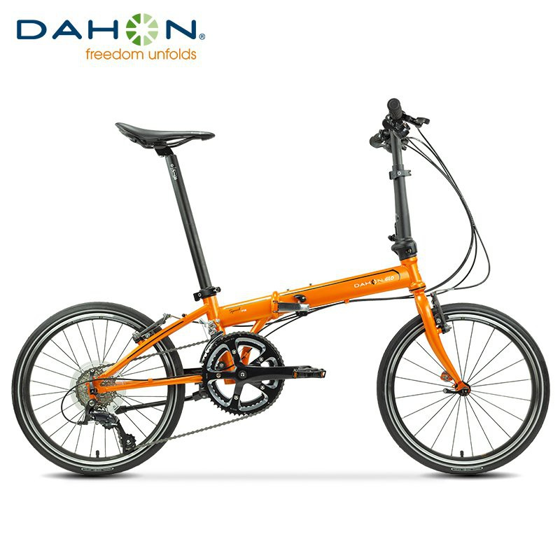 【現貨】【热销】DAHON大行SP18折疊自行車20寸18速成人男女遠行公路折疊車KAC083