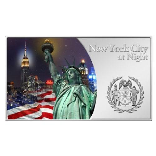 [白銀之手]<預購>2012斐濟之城市夜景系列銀幣-紐約3200