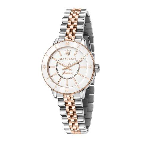 MASERATI WATCH 瑪莎拉蒂手錶 R8853145504 LADY名媛風光動能雙色腕錶  原廠正貨