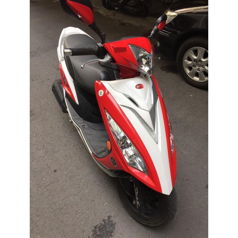 光陽KYMCO G6E 125 紅白色 自售 非車行