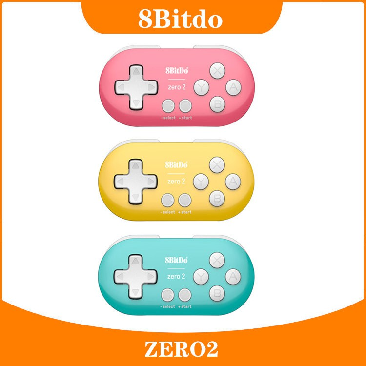 ✖✸❅8Bitdo八位堂Zero2無線藍牙迷你小手柄 手機電腦畫畫NS游戲手柄