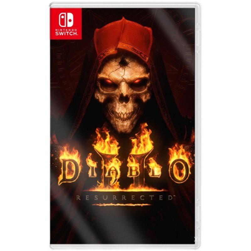 【優質】Switch全新遊戲 NS 暗黑破壞神2 獄火重生 重製版 訂購 12V7