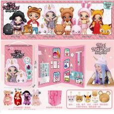 惊喜娜娜盲盒2合1娃娃nanana火熱迷糊爆款盲盒芭比娃娃公主过家家儿童玩具