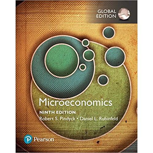 【胖橘子】MICROECONOMICS 第9版 2018 PINDYCK 9781292213316