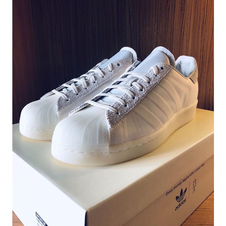 eason x Adidas Originals Superstar 陳奕迅 白色 FX8116